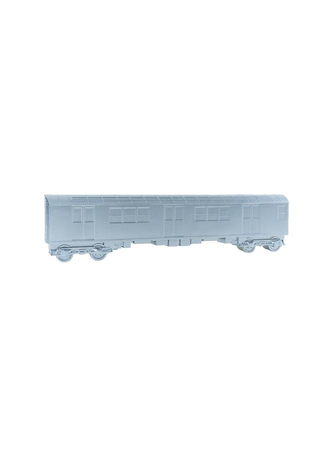 "All City Style Silver Train - Single 20"" half car model"