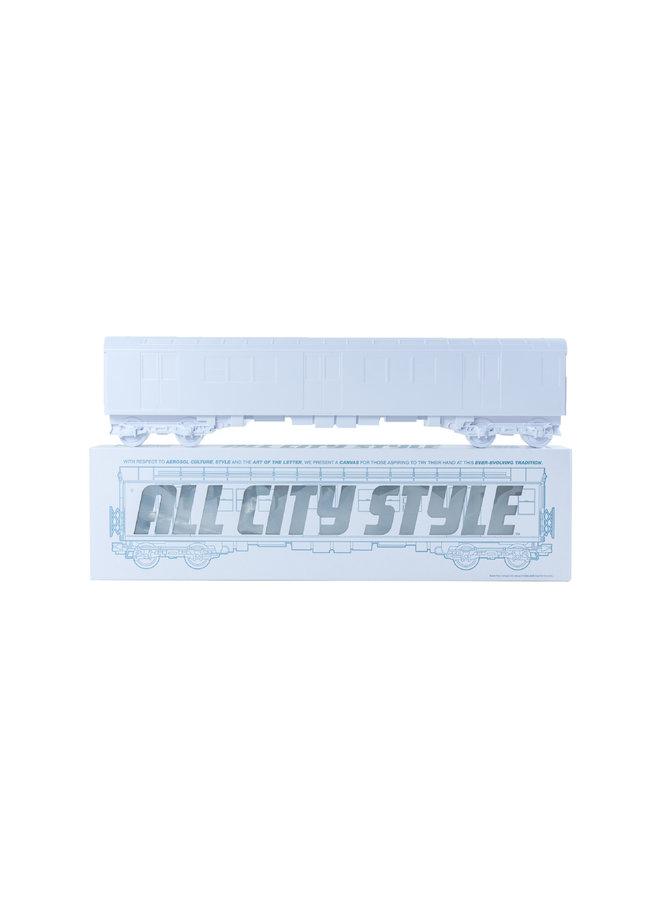 "All City Style White Elephant Train - Single 20"" half car model"