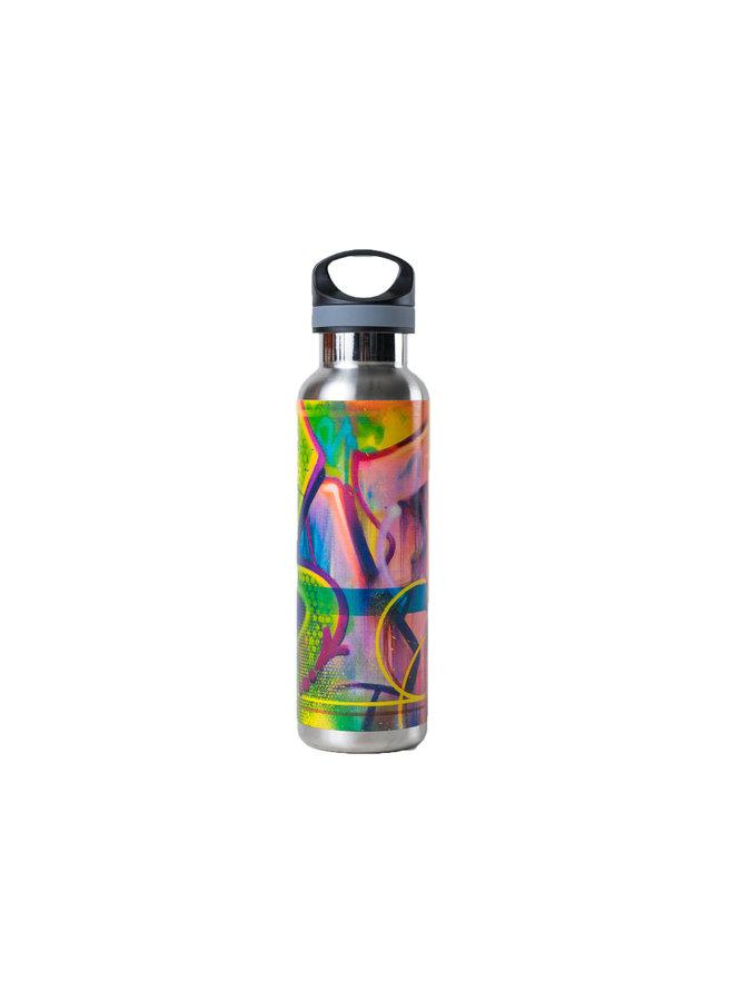 RISK  Riskoleum Water Bottle (Silver)