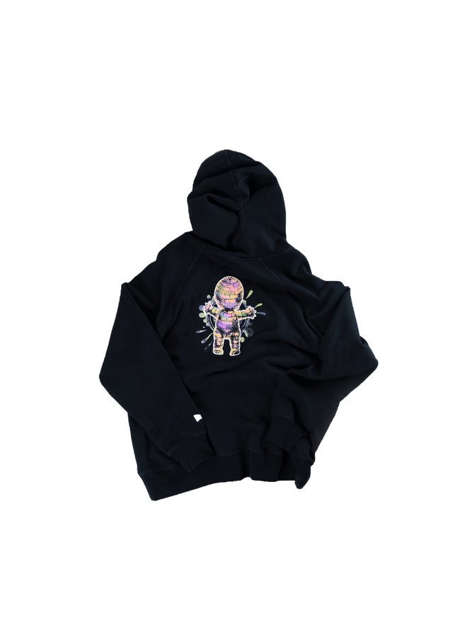"""Lady Pink """"Baby Brick"""" Fleece Pullover Hoodie w/ Pouch Pocket"""