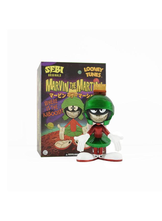 "Ron English  Marvin the Martian 8"" Metallic"