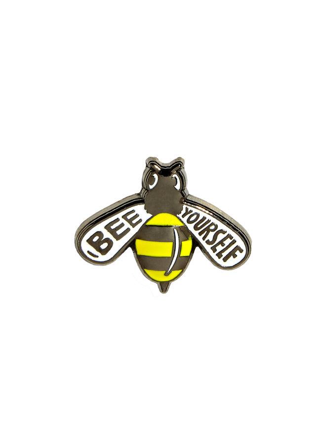 Bee Yourself Pin