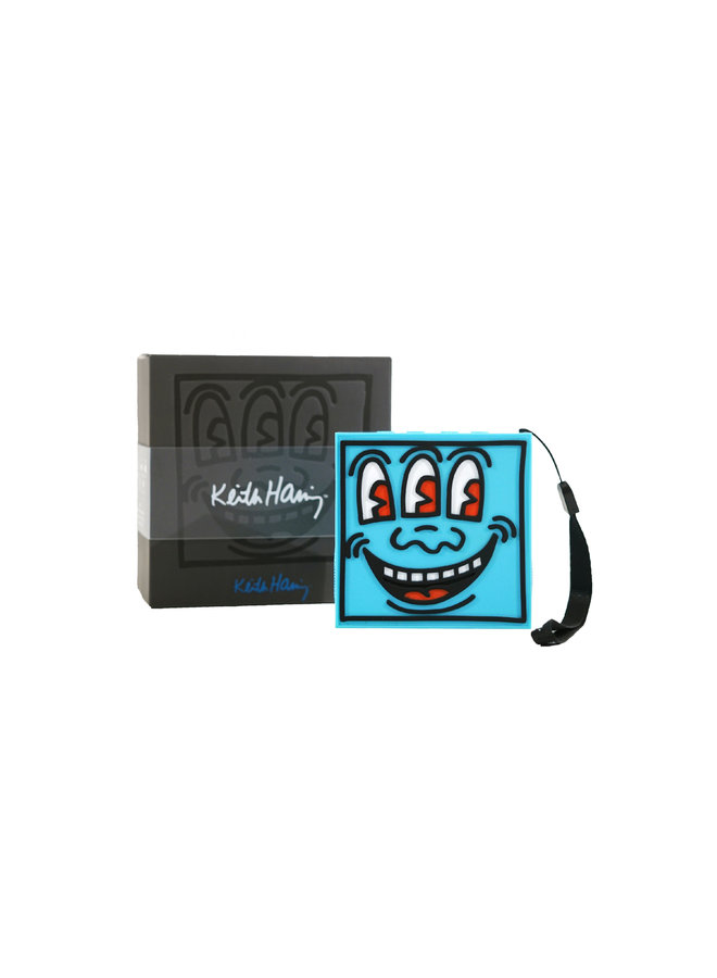 Keith Haring SoundQubes Blue