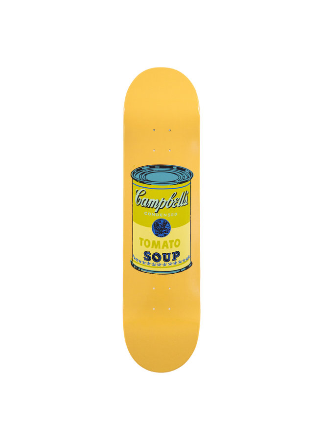 """Andy Warhol """"Beige Campbell's Soup"""" Skate Deck"""