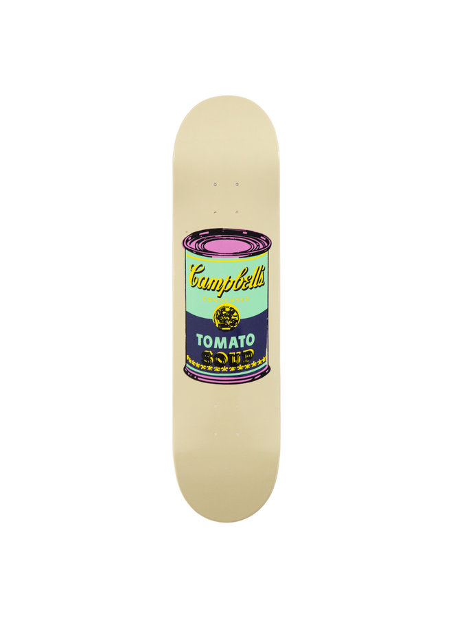 """Andy Warhol """"Eggplant Campbell's Soup"""" Skate Deck"""