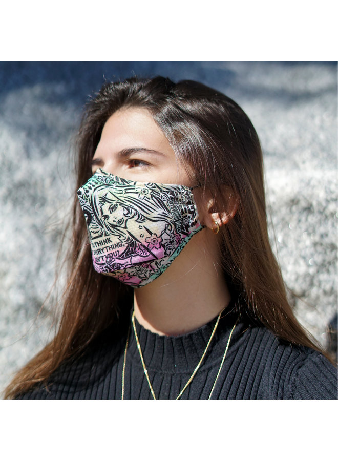 AIKO THINKING OF EVERYTHING x Wynwood Walls ENRO Facemask
