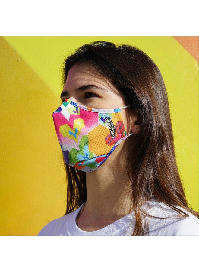 BIO HEART OF GOLD x Wynwood Walls ENRO Facemask
