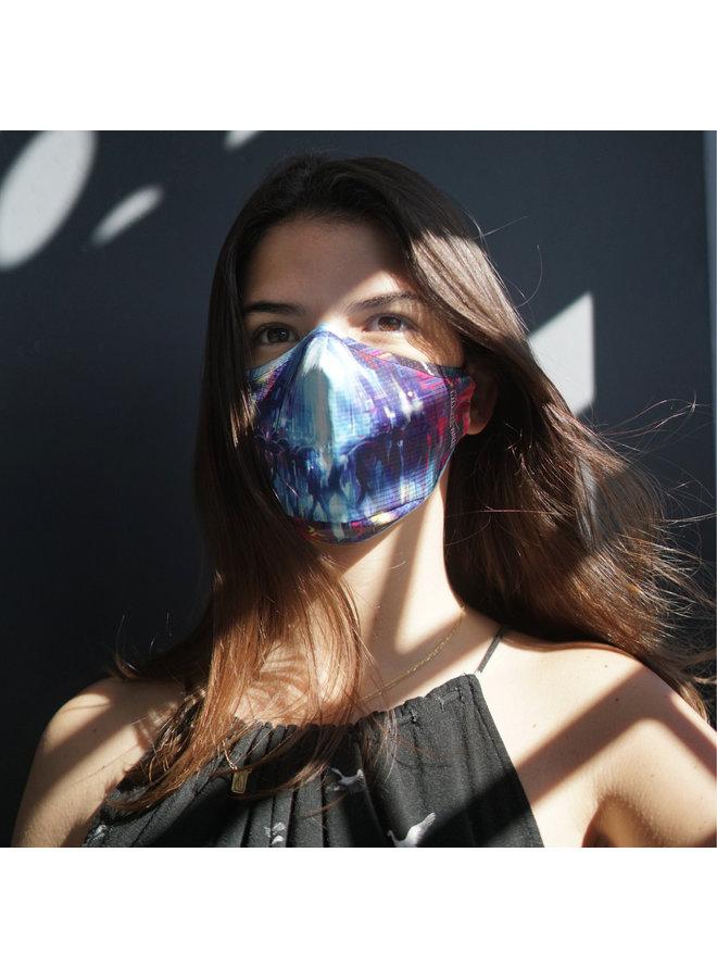 DAN KITCHENER STREETS OF NEON x Wynwood Walls ENRO Facemask