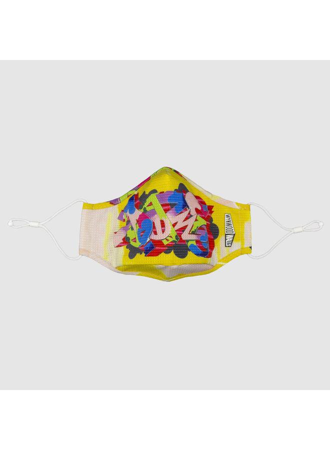DAZE PIECES x Wynwood Walls ENRO Facemask