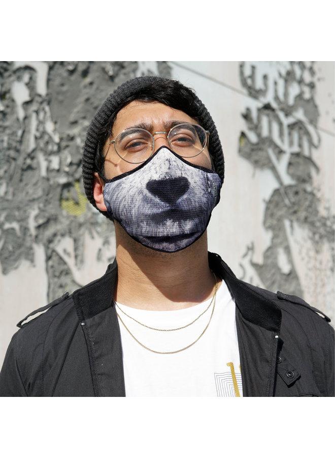 ERNESTO MARANJE PANDA x Wynwood Walls ENRO Facemask