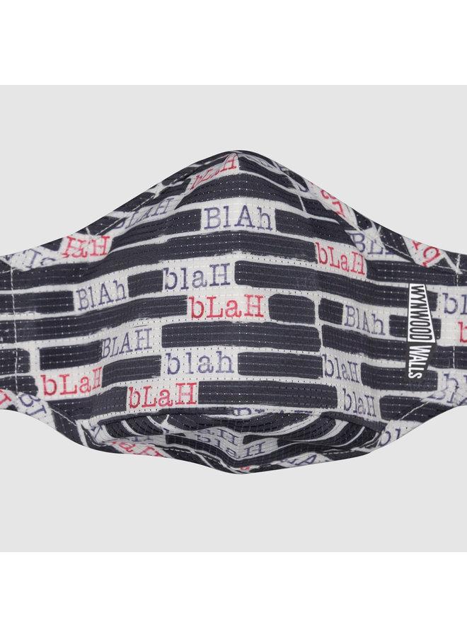 """PETER TUNNEY """"BLAH BLAH BLAH""""  x Wynwood Walls ENRO Facemask"""