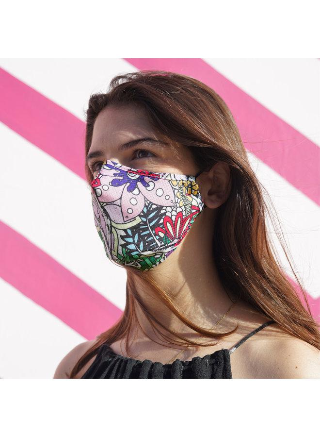 "KELSEY MONTAGUE ""WYNWOOD 2019""  x Wynwood Walls ENRO Facemask"