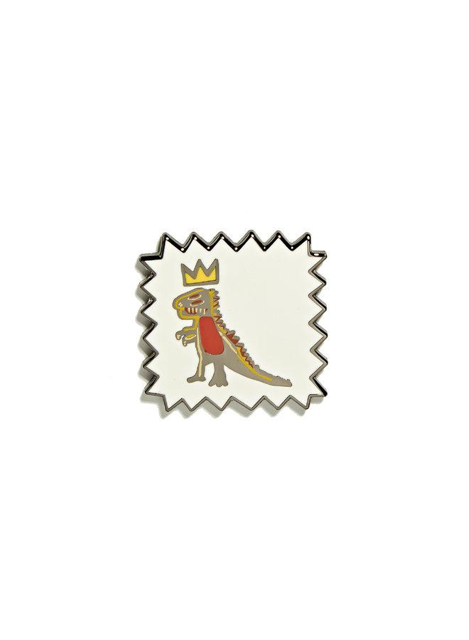 Jean-Michel Basquiat - Crowned T-Rex