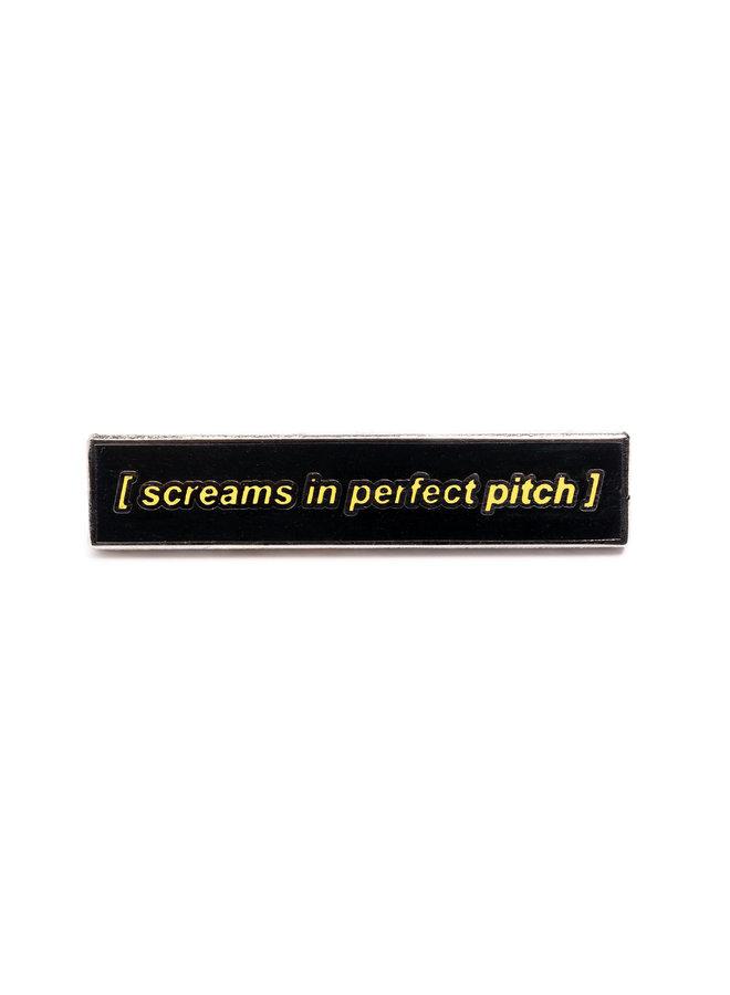 Pitch Perfect Scream Pin