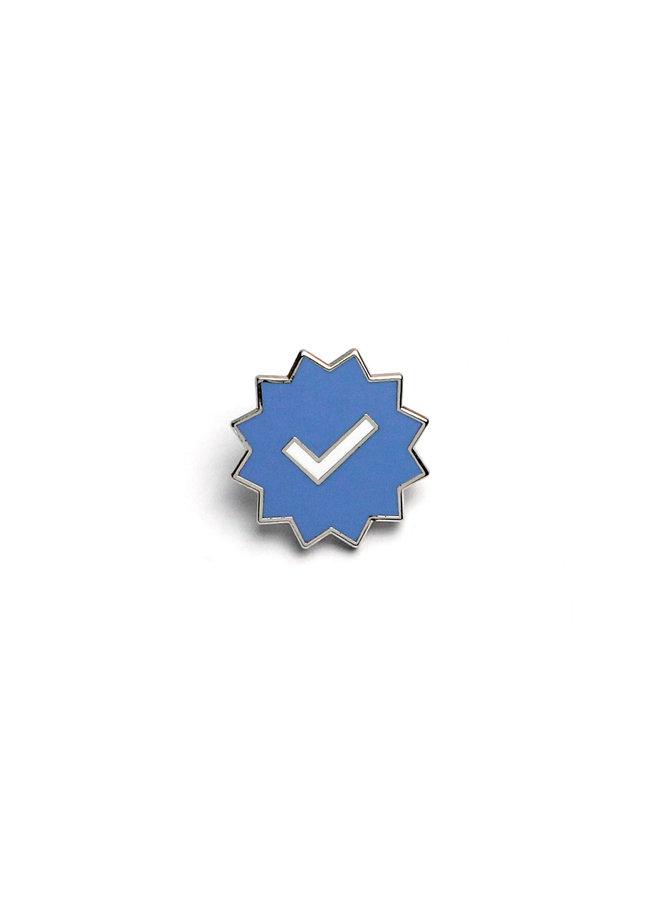 Verified Checkmark Pin