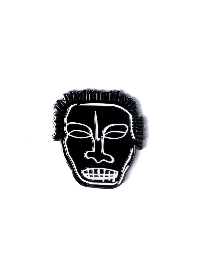 Jean-Michel Basquiat - Head Pin