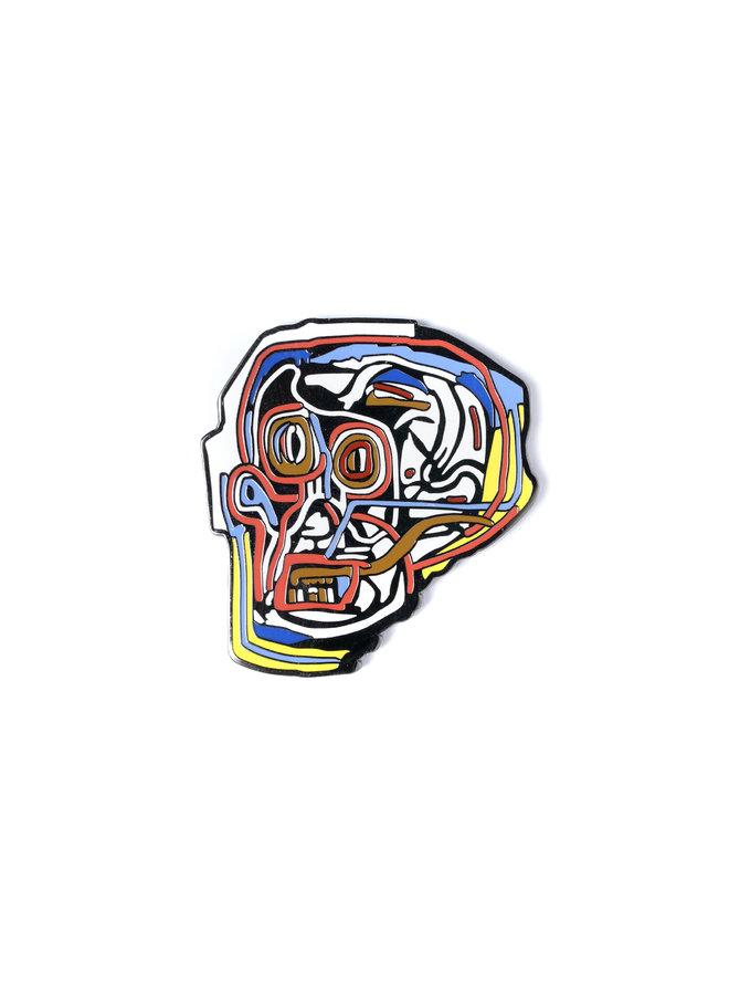 Jean-Michel Basquiat - Mask Pin