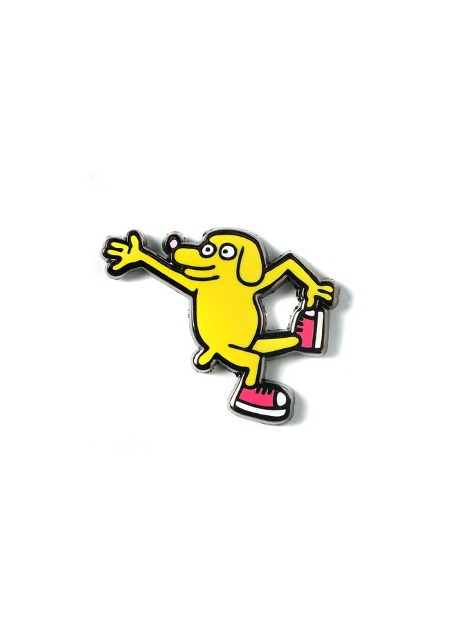 Keith Haring DOGS - Pop Pin