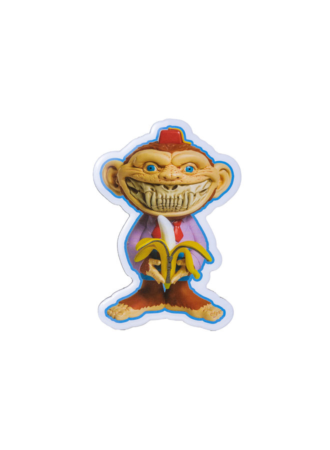 Ron English Monkey Shiner Magnet