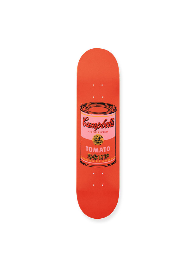 """Andy Warhol """"Peach Campbell's Soup"""" Skate Deck"""