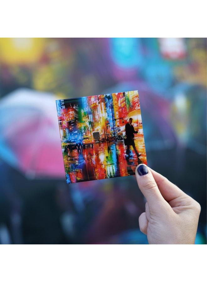 Dan Kitchener Neon Streets Magnet