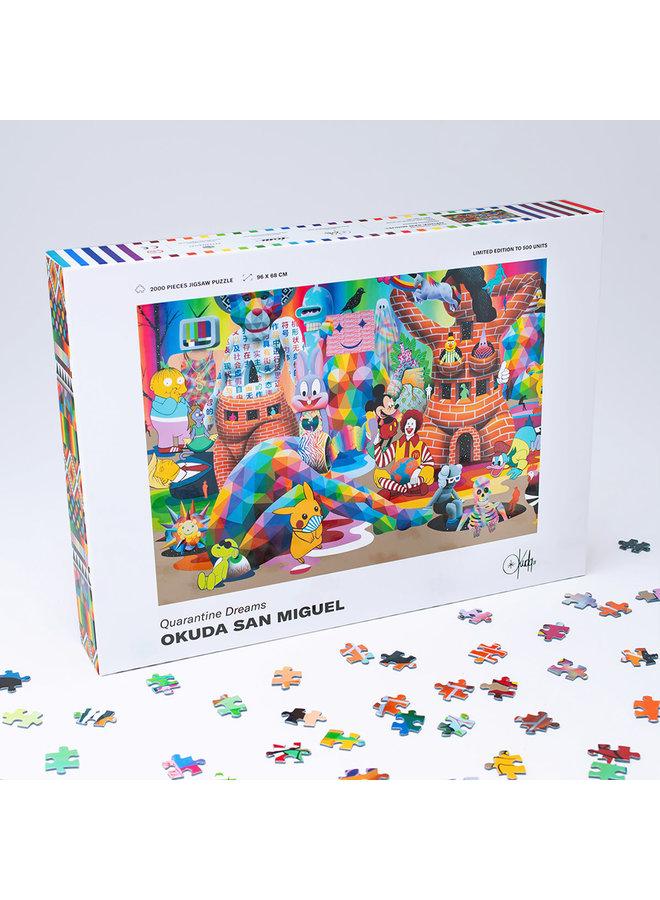 Okuda San Miguel Quarantine Dreams Puzzle