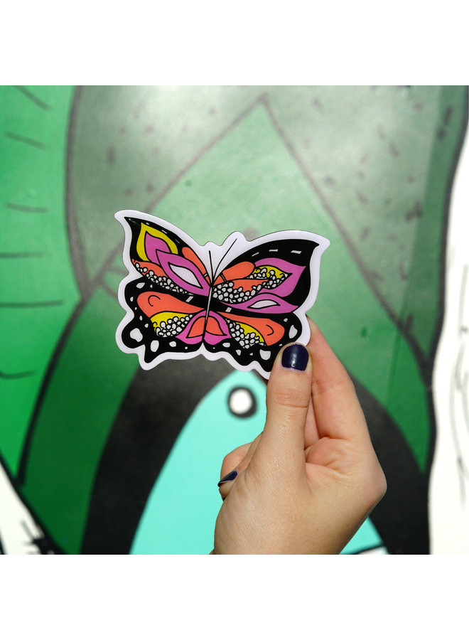 Kelsey Montague Butterfly Magnet