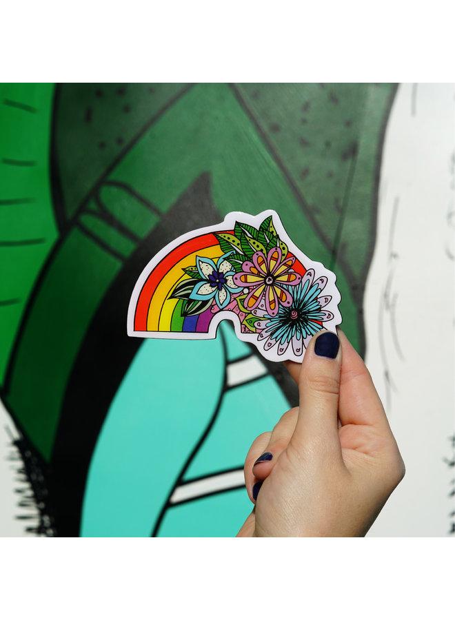 Kelsey Montague Rainbow  Magnet