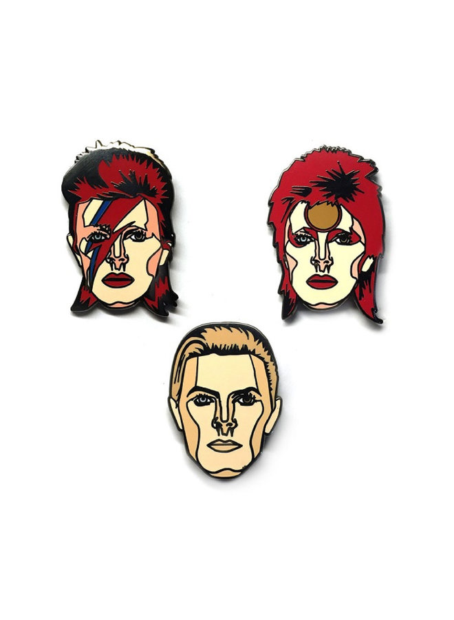 David Bowie 3 Pin Pack