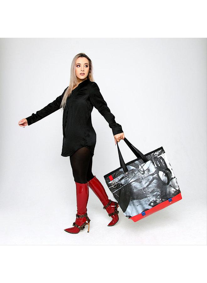 SEN2 Large Custom Bags x Wynwood Walls