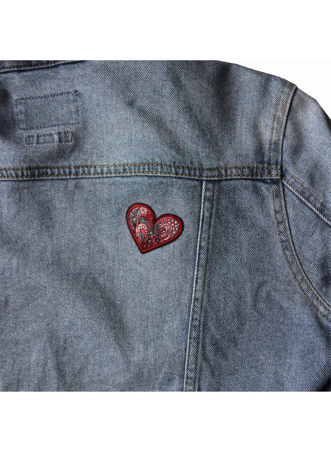 Kelsey Montague Heart  Patch