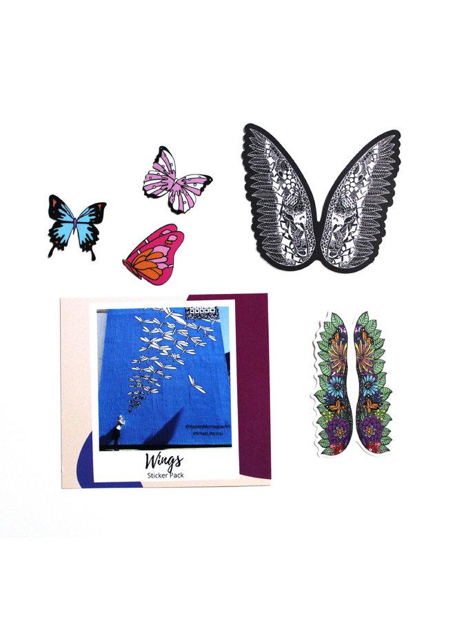 Kelsey Montague Sticker Pack