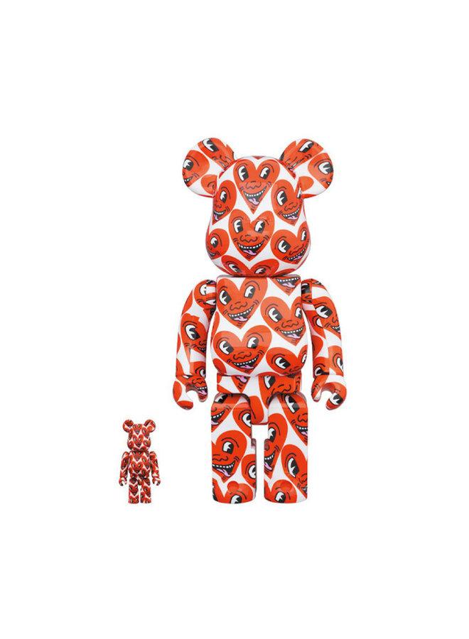 Be@rbrick 100% & 400%  Keith Haring  Vol. 6