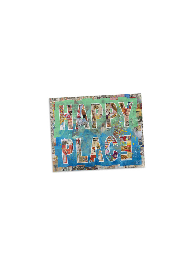 Peter Tunney Happy Place  Magnet