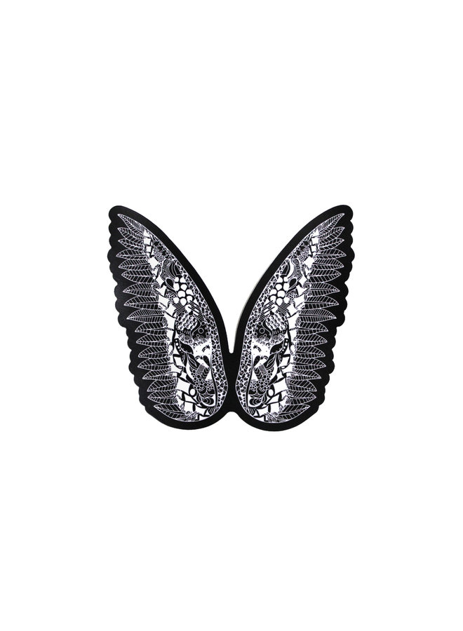 Kelsey Montague  What Lifts You Wing  Sticker