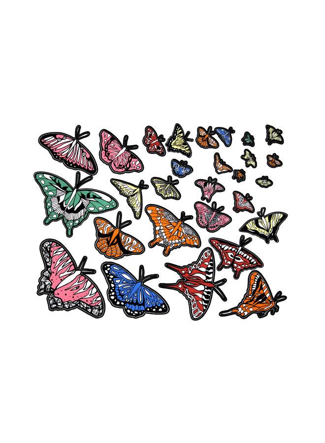 Kelsey Montague Sticker Sheet