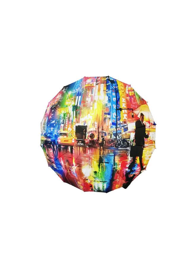 "Dan Kitchener x Wynwood Walls ""Neon Streets"" Umbrella"