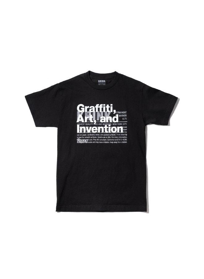 Krink: Graffiti, Art, and Invention K-71 Logo Tee