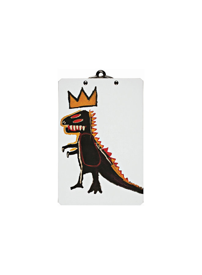 Jean-Michel Basquiat Mini Clipboard, Dino (Pez Dispenser)