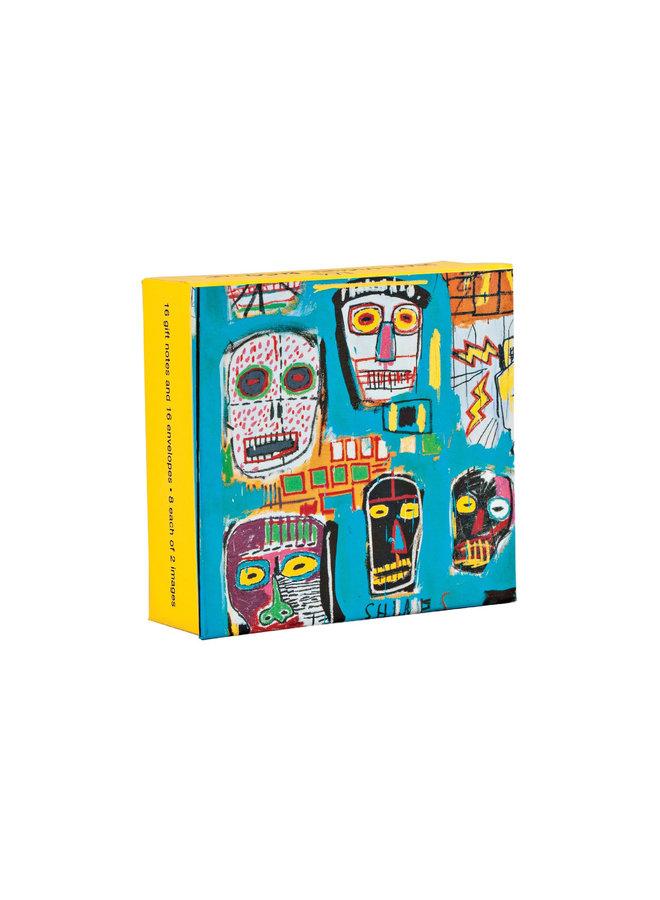 Jean-Michel Basquiat Mini FlipTop Notecard Box