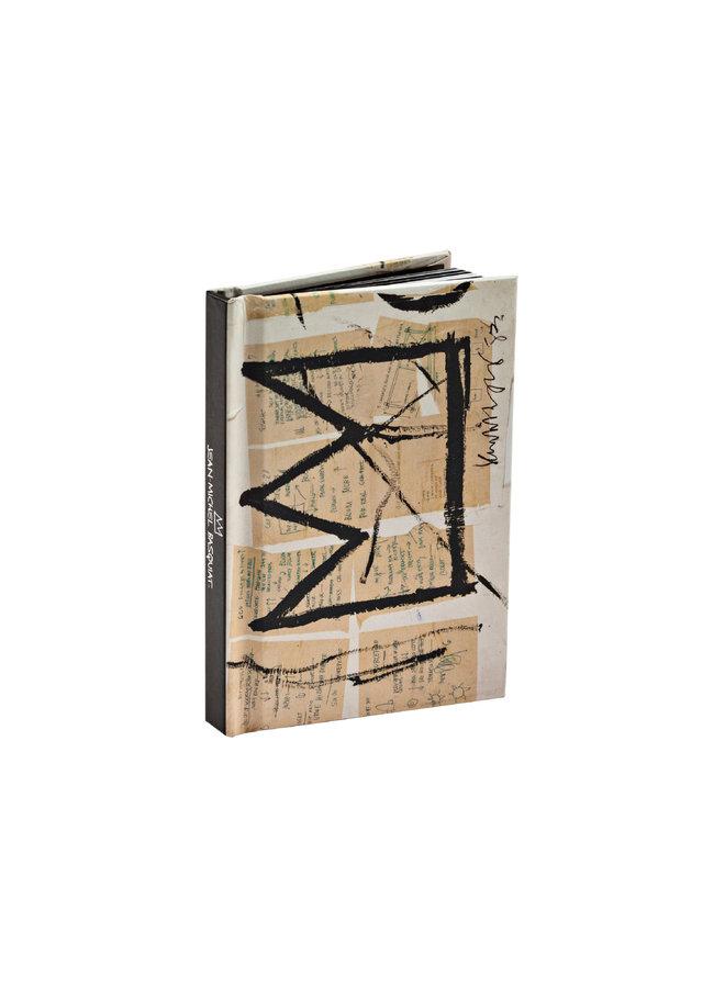 Jean-Michel Basquiat Mini Notebook, Crown (Untitled)