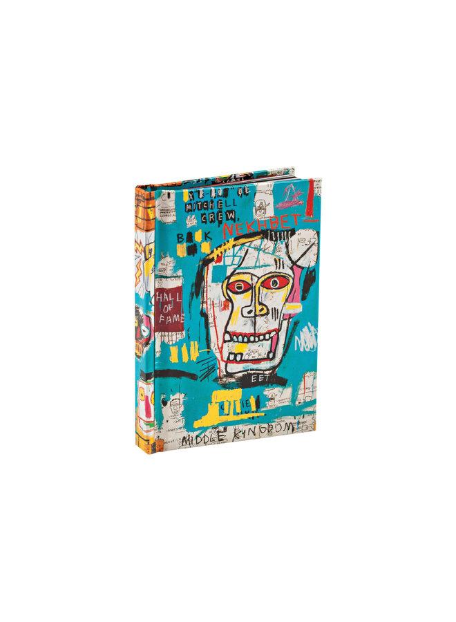 Jean-Michel Basquiat Mini Notebook, Skulls (Mitchell Crew)