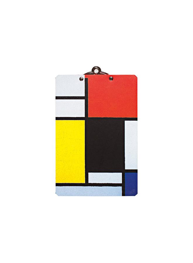 Piet Mondrian Mini Clipboard