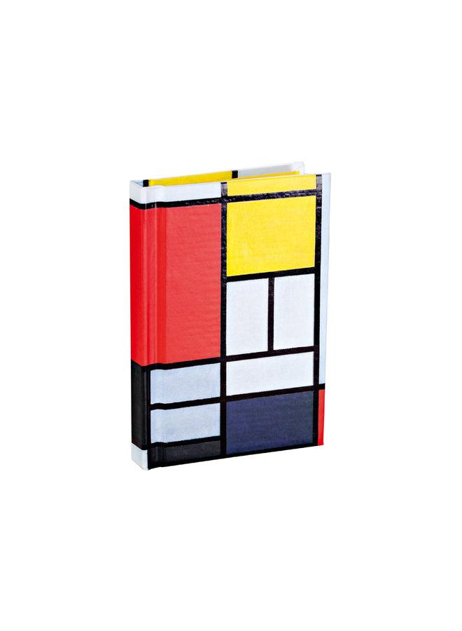Piet Mondrian Mini Notebook