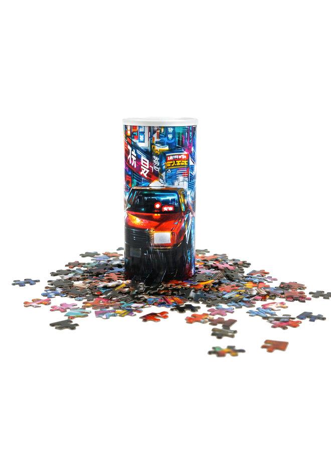 "Dan Kitchener  x Wynwood Walls ""Tokyo Rush"" Puzzle"