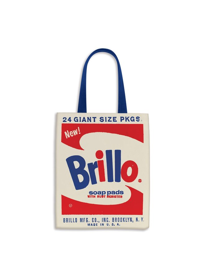 Tote Bag Canvas Andy Warhol Brillo