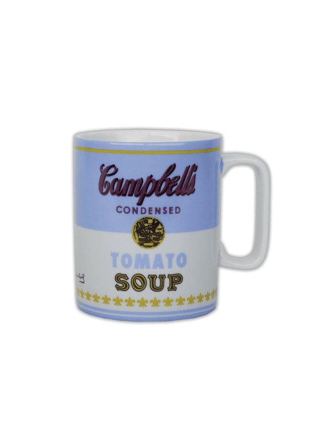 Mug Warhol Soup Blue/White