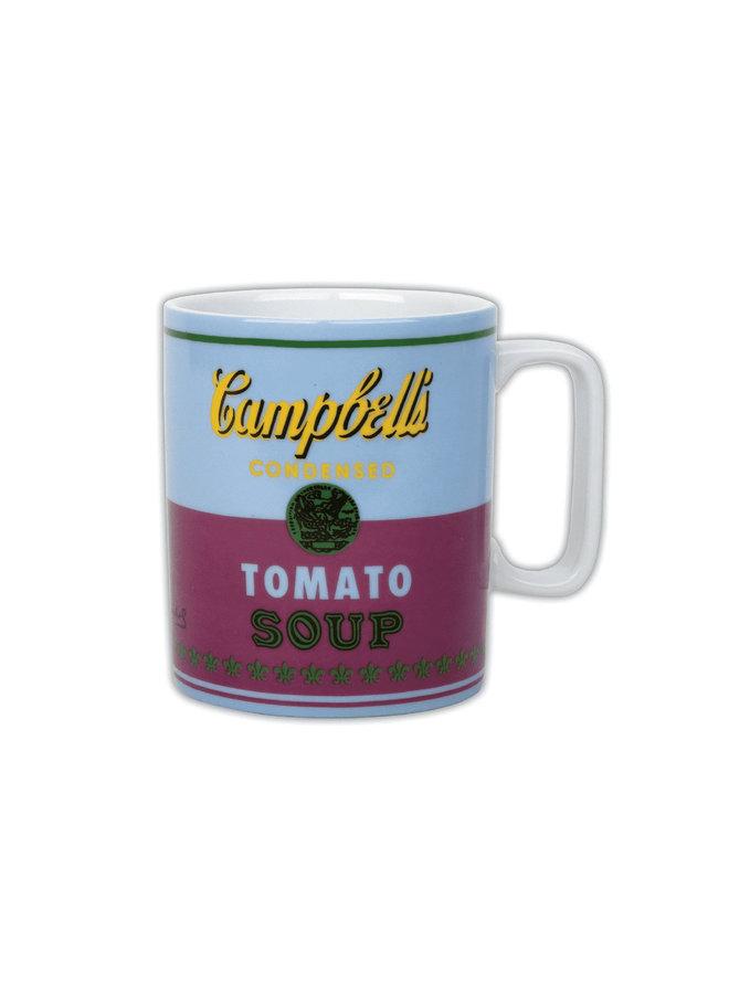 Mug Warhol Soup Blue/Purple