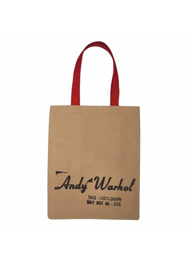 Andy Warhol Campbell's Soup Tote Bag