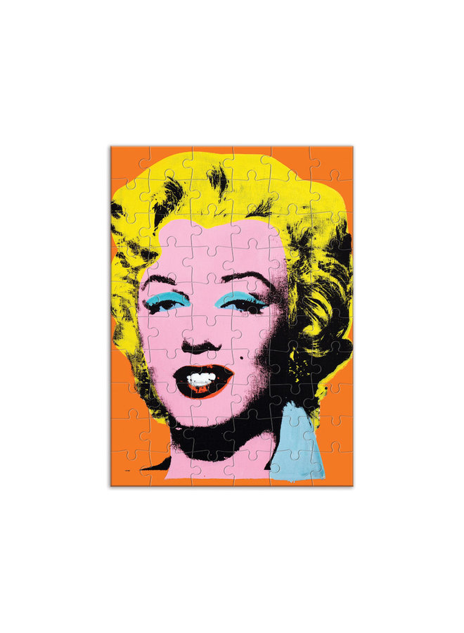 Greeting Andy Warhol Marilyn Puzzle